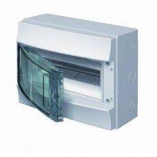 Шкаф IP65 Mistral прозрачные двери 12M с винтовым N/PE клемн. 22 подкл. ABB