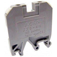 Клеммник JXB 4/35 серый, АСКО