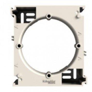 Коробка для наружного монтажа (1-постовая) Schneider Electric Asfora, кремовый - описание, характеристики, отзывы