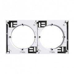 Коробка для наружного монтажа (дополнительная) Schneider Electric Asfora, белый