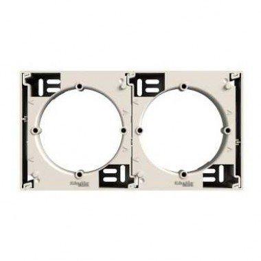 Коробка для наружного монтажа (дополнительная) Schneider Electric Asfora, кремовый - описание, характеристики, отзывы