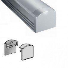 Заглушка для прямого профиля ЛП12 12х15,5 BIOM