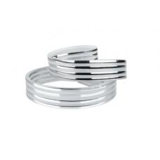 Декоративная лента  DS-R330-08-4S к светильнику DEL-R-20-24-4 DIY (4 серебряные полоски) Biom