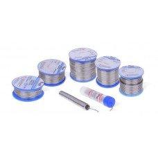 Припой оловянно-свинцовый Cynel Sn60Pb40-SW26 2,5мм, 100г