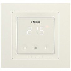 Терморегулятор Terneo S unic с сенсорным управлением (слон. кость)