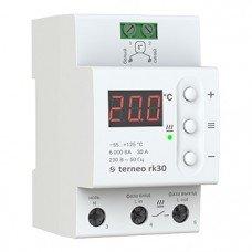 Терморегулятор Terneo RK, 32A (-55 +125  для котлов и трубопроводов)
