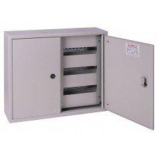 Шкаф металлический e.mbox.pro.n.72z IP31 навесной на 72 модуля с замком, e.next