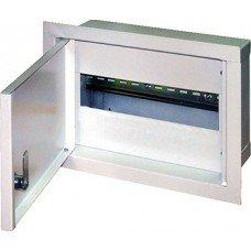 Шкаф металлический e.mbox.stand.w.15.z, под 15 модулей, встраиваемый, с замком, e.next