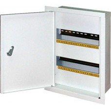 Шкаф металлический e.mbox.stand.w.24.z, под 24 модуля, встраиваемый, с замком, e.next