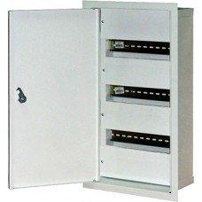 Шкаф металлический e.mbox.stand.w.36.z, под 36 модулей, встраиваемый, с замком, e.next