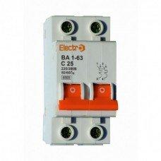 Автоматический выключатель ВА 1-63 4,5кА  2х10А  (ElectrO TM)
