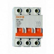 Автоматический выключатель ВА 1-63 4,5кА  3х10А  (ElectrO TM)