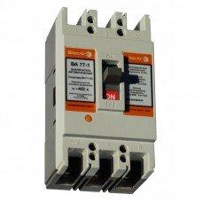 Автоматический выключатель ВА 77-1- 63  63А, 3п, 380В  (ElectrO TM)