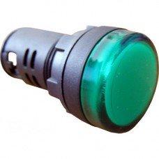 Индикатор AD22 (светодиод) 220В зеленый  (ElectrO TM)