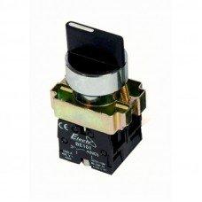 Кнопка  2-х позиционный переключатель 22mm  NO (ElectrO TM)