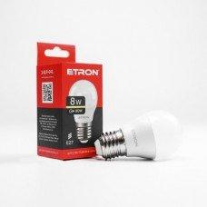 Лампа 1-ELP-041 G45 8W 3000K 220V E27 ETRON