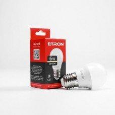 Лампа 1-ELP-045 G45 6W 3000K 220V E27 ETRON