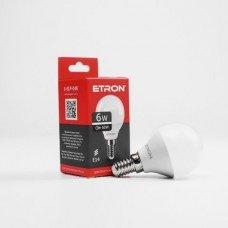 Лампа 1-ELP-048 G45 6W 4200K 220V E14 ETRON