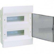 Hager COSMOS Щит в/у с прозрачными дверцами 24 мод.(2х12)