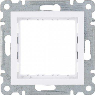 Рамка-адаптер для изделий 45х45 Lumina, белая, Hager - описание, характеристики, отзывы