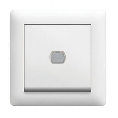 Светорегулятор нажимной Lumina, белый, 60-300Вт, Hager - описание, характеристики, отзывы
