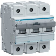 Автоматический выключатель HLF380S (3p,С,80А) Hager