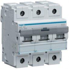 Автоматический выключатель HLF390S (3p,С,100А) Hager