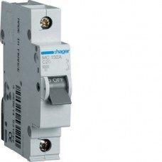 Автоматический выключатель MB116A (1p,В,16А) Hager