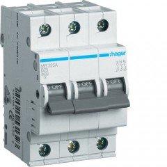 Автоматический выключатель MC306A (3р,С,6А) Hager