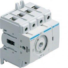 Выключатель нагрузки модульный до 16мм2, 4п 40А, Hager