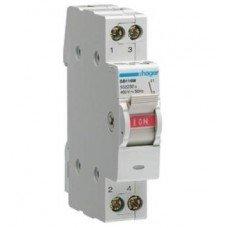Выключатель нагрузки 1-полюсный 16А/230В, Hager