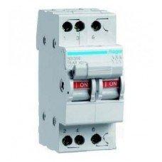 Выключатель нагрузки 2-полюсный 63А/400В, 2м Hager