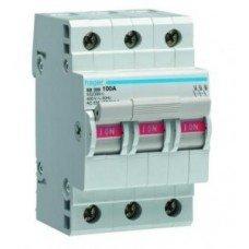 Выключатель нагрузки 3-полюсный 80А/400В Hager