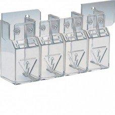 Крышка для защиты контактов для выключателей HA/HI 125А-160А, 4п Hager