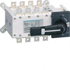 Переключатель корпусный трехпозиционный I-0-II до 50мм2, 4полюси 125А Hager