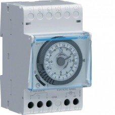 Таймер аналоговый EH111, суточный, 16А, 1 переключаемый контакт, запас хода 200 часов, 3 м, Hager