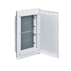 Щит 4-рядный для ММ-оборудования, в/у, белые пластиковые перфорированные двери Hager GOLF