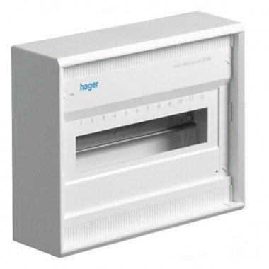 Щит распределительный накладной без дверей на 12(14) модулей, Hager Volta VA12CN - описание, характеристики, отзывы
