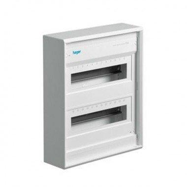 Щит распределительный накладной без дверей на 24(28) модулей, Hager Volta VA24CN - описание, характеристики, отзывы