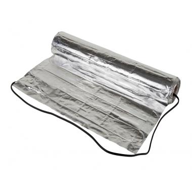 Алюминиевый мат для паркета и ламината Alu-Мat 140 Вт/м² - 1.5 м² (0.5 x 3.0 м) - описание, характеристики, отзывы