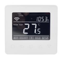 Термостат цифровой HC90 Wi-Fi белый Heatcom