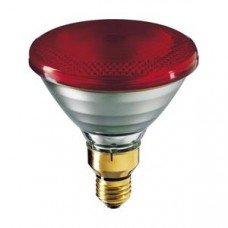 Лампа инфракрасная PAR 230V 175W E27 P38RB Helios (толстое стекло)