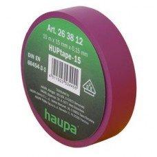 Изолента, 19 мм х 20 м, ПВХ фиолетовый, HAUPA