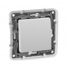 Выключатель / Переключатель IP44 10AX  Белый ETIKA