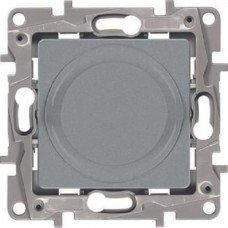 Светорегулятор поворотный 300Вт, Алюминий ETIKA