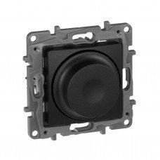 Светорегулятор поворотный 300Вт, Антрацит ETIKA