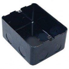 Коробка металлическая в бетон 4 модуля