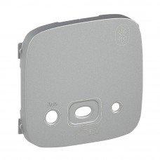 Valena ALLURE Лицевая панель модуля Bluetooth Алюминий