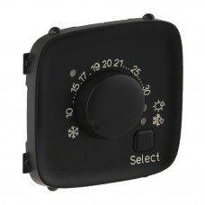 Valena ALLURE Накладка комнатного термостата Антрацит