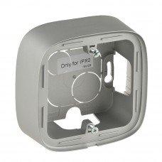 Valena ALLURE Коробка для накладного монтажа 1-постовая Алюминий